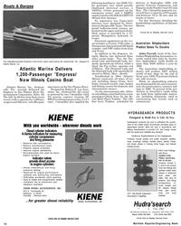 Maritime Reporter Magazine, page 14,  Jul 1992 Illinois