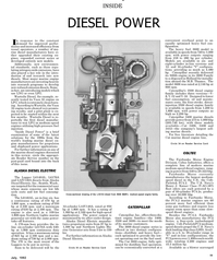 Maritime Reporter Magazine, page 23,  Jul 1992 shipboard power applications