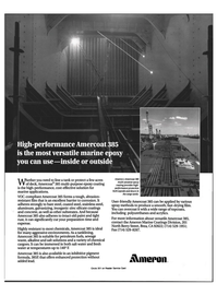 Maritime Reporter Magazine, page 2nd Cover,  Aug 1992 marine applications
