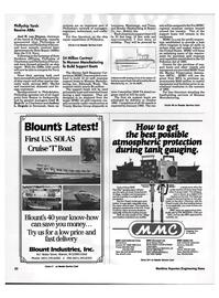 Maritime Reporter Magazine, page 18,  Aug 1992 Louisiana