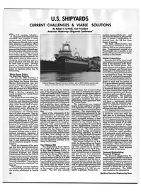 Maritime Reporter Magazine, page 24,  Aug 1992 Maryland