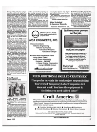 Maritime Reporter Magazine, page 25,  Aug 1992 California