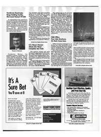 Maritime Reporter Magazine, page 30,  Aug 1992 Mississippi