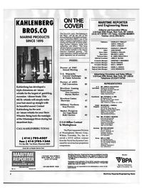 Maritime Reporter Magazine, page 2,  Aug 1992 Pennsylvania