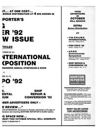 Maritime Reporter Magazine, page 43,  Aug 1992 United Kingdom