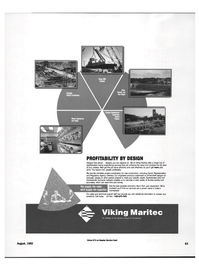 Maritime Reporter Magazine, page 61,  Aug 1992 ship hull characteristic computer software