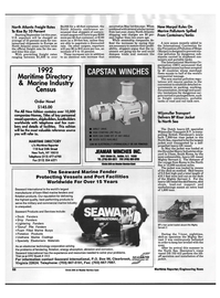 Maritime Reporter Magazine, page 66,  Aug 1992 United Nations