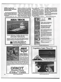 Maritime Reporter Magazine, page 70,  Aug 1992 central Florida