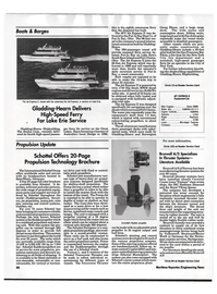 Maritime Reporter Magazine, page 100,  Sep 1992 Gladding-Hearn Delivers High-Speed Ferry For Lake Erie Service