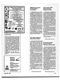 Maritime Reporter Magazine, page 111,  Sep 1992 New York