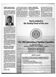 Maritime Reporter Magazine, page 15,  Sep 1992 cost accounting