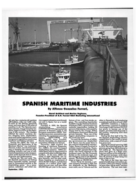 Maritime Reporter Magazine, page 19,  Sep 1992 ANAVE