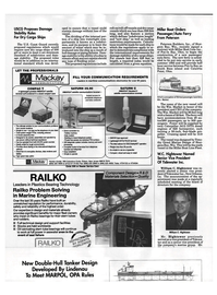 Maritime Reporter Magazine, page 42,  Sep 1992 Wisconsin