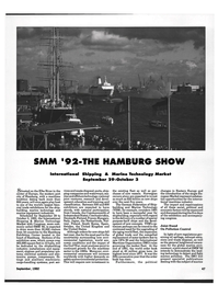 Maritime Reporter Magazine, page 49,  Sep 1992 German Federation of Ship