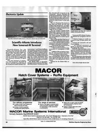 Maritime Reporter Magazine, page 68,  Sep 1992 Standard M service