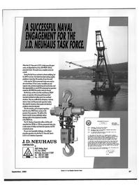 Maritime Reporter Magazine, page 69,  Sep 1992 Crane