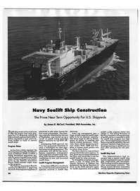 Maritime Reporter Magazine, page 70,  Sep 1992 House Armed Services Committee