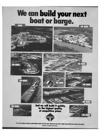 Maritime Reporter Magazine, page 77,  Sep 1992 Gretna Machine & Ironworks Inc.