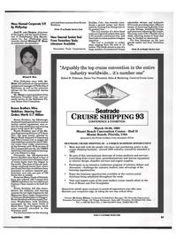 Maritime Reporter Magazine, page 85,  Sep 1992 Joel H. van Diepen