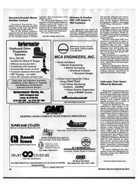 Maritime Reporter Magazine, page 24,  Oct 1992