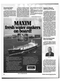 Maritime Reporter Magazine, page 41,  Oct 1992 Maryland