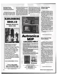 Maritime Reporter Magazine, page 43,  Oct 1992 Mississippi