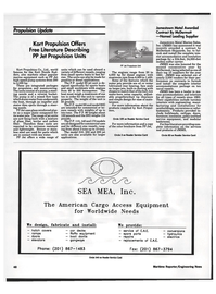 Maritime Reporter Magazine, page 47,  Oct 1992 speed pump systems