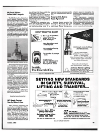 Maritime Reporter Magazine, page 48,  Oct 1992 Florida