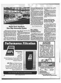 Maritime Reporter Magazine, page 51,  Oct 1992