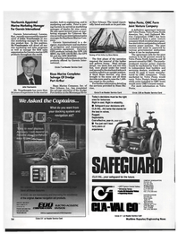 Maritime Reporter Magazine, page 53,  Oct 1992 Regulating Valves EASTERN DIVISION CLA-VAL CO Airport Center