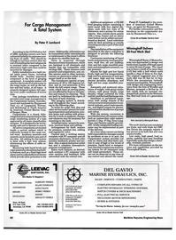 Maritime Reporter Magazine, page 79,  Oct 1992
