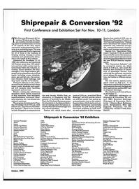 Maritime Reporter Magazine, page 84,  Oct 1992