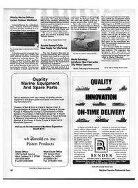 Maritime Reporter Magazine, page 97,  Oct 1992
