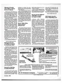 Maritime Reporter Magazine, page 9,  Nov 1992
