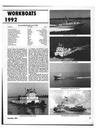 Maritime Reporter Magazine, page 25,  Nov 1992