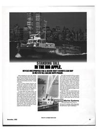 Maritime Reporter Magazine, page 29,  Nov 1992