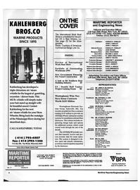 Maritime Reporter Magazine, page 2,  Nov 1992
