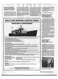 Maritime Reporter Magazine, page 10,  Dec 1992 Robert L. Hague