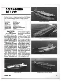 Maritime Reporter Magazine, page 13,  Dec 1992