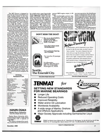 Maritime Reporter Magazine, page 15,  Dec 1992 Onshore