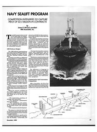 Maritime Reporter Magazine, page 23,  Dec 1992 interior communications equipment