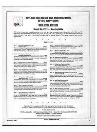 Maritime Reporter Magazine, page 1,  Dec 1992