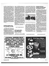 Maritime Reporter Magazine, page 39,  Dec 1992 New York