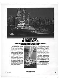 Maritime Reporter Magazine, page 41,  Dec 1992 Hudson River