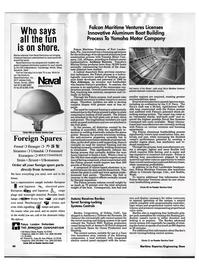 Maritime Reporter Magazine, page 44,  Dec 1992