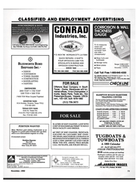 Maritime Reporter Magazine, page 73,  Dec 1992 Massachusetts