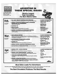 Maritime Reporter Magazine, page 76,  Dec 1992