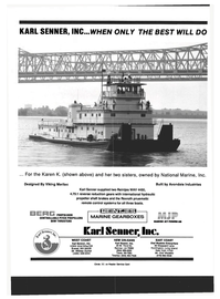 Maritime Reporter Magazine, page 4th Cover,  Mar 1993 Louisiana