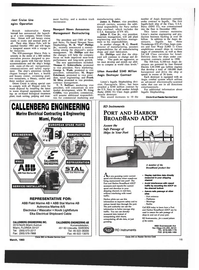 Maritime Reporter Magazine, page 13,  Mar 1993