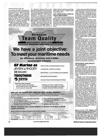 Maritime Reporter Magazine, page 16,  Mar 1993